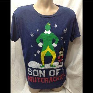 Men's size 2XL Elf Christmas tee